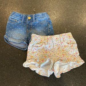 2T Denim Shorts